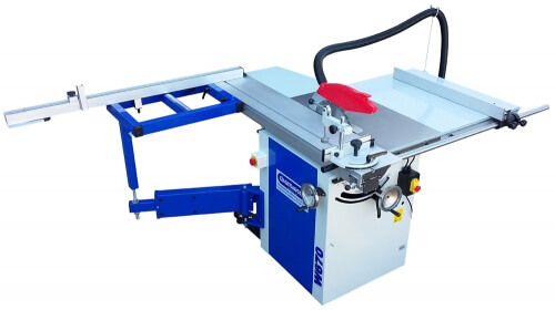 W670 12″ Panel Saw with Sliding Beam