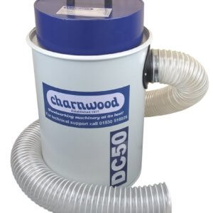 Charnwood High Filtration Vacuum Extractor, 50 Litre